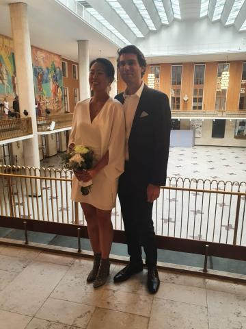 Frederiksberg town hall wedding